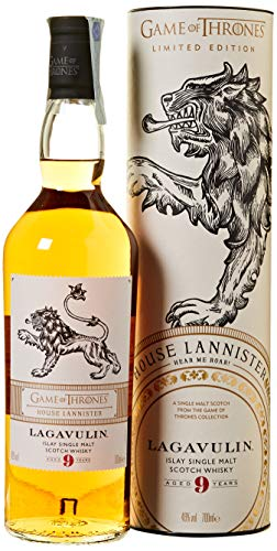 Lagavulin 9 Year Old, House Lannister Whisky Single Malt - 700 ml