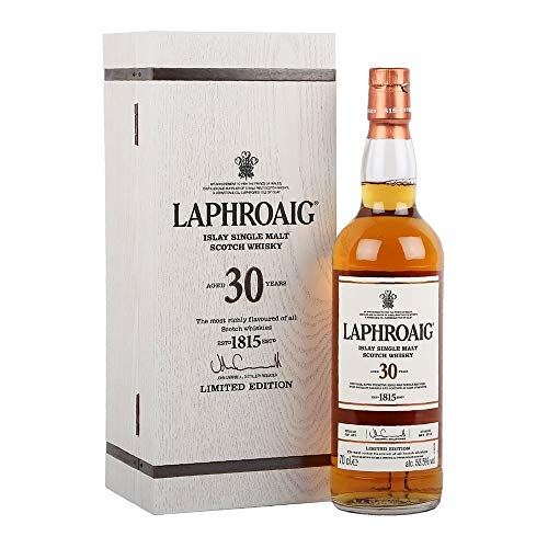 Laphroaig 30 Years Old Limited Edition 53,5% Vol. 0,7l in Holzkiste