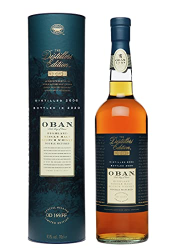Oban Distillers Edition, Single Malt Scotch Whisky, Special Release 2020-70 cl in Giftbox