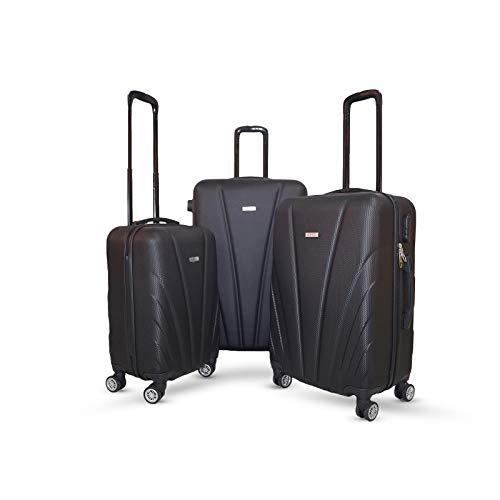 Orci Shell, valigetta da viaggio rigida, trolley a mano, set M-L-XL