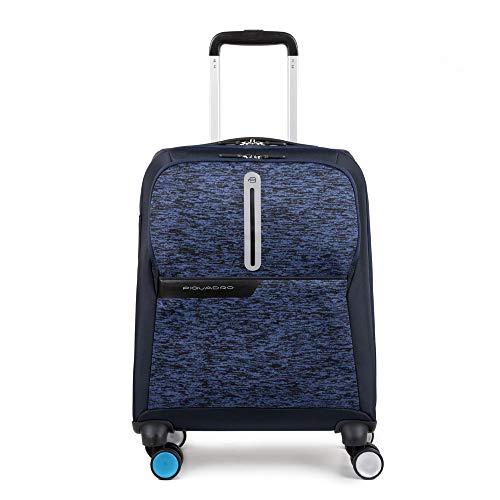 Piquadro Bv3849os37/blu Trolley, 55 cm, Blu