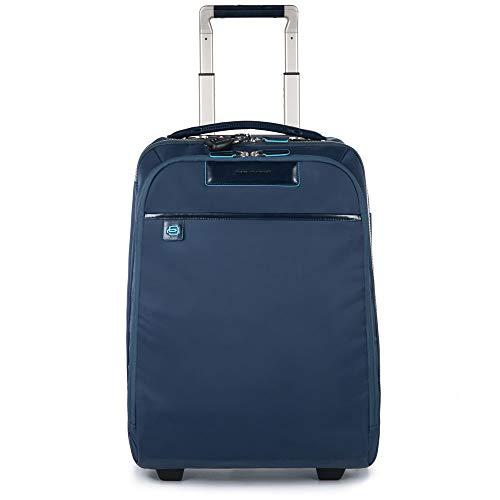 Piquadro Celion Trolley, Nylon, Blu, 35 Litri, 50 cm