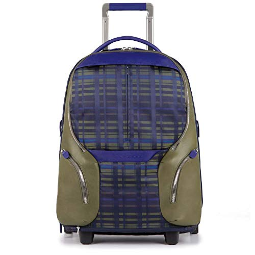 Piquadro Coleos Trolley, 53 cm, Blu