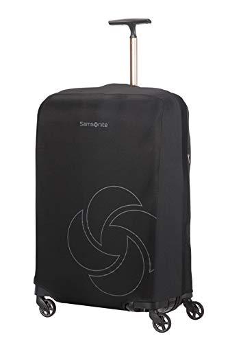 Samsonite Global Travel Accessories - Coperture Pieghevole per Valigia, L, Nero (Black)