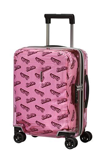 Samsonite Neopulse Barbie Spinner XS Valigia per Bambini, 45 cm, 26 L, Rosa (Barbie Transparent Pink)
