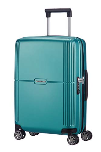 SAMSONITE Orfeo - Spinner 55/20 Bagaglio a mano, 55 cm, 37 liters, Blu (Blue Lagoon)