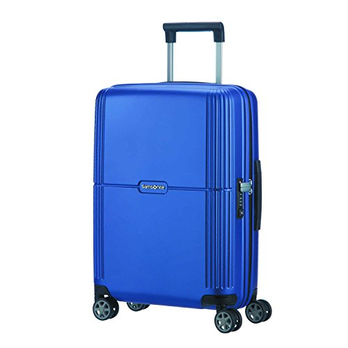 SAMSONITE Orfeo - Spinner 55/20 Bagaglio a mano, 55 cm, 37 liters, Blu (Cobalt Blue)