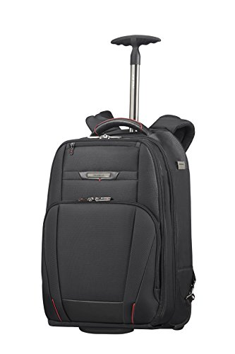 "Samsonite Pro-DLX 5 - Wheeled Backpack for 17.3"" Laptop 2.6 KG Zaino Casual, 48 cm, 28 liters, Nero (Black)"