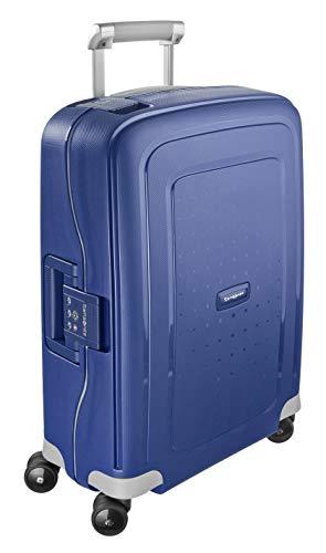 Samsonite S'Cure Bagaglio a Mano, 34 l, S (55 cm - 34 L), Blu (Dark Blue)