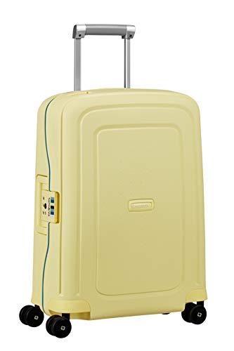 Samsonite S'Cure Bagaglio a Mano, 34 l, S (55 cm - 34 L), Giallo (Pastel Yellow Stripes)