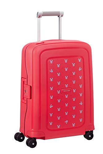 Samsonite S'Cure Disney - Bagaglio a Mano, 34 l, S (55 cm - 34 L), Rosso (Mickey Summer Red)