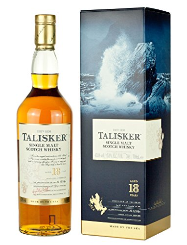 Talisker 18 Anni Single Malt Scotch Whisky, 700 ml