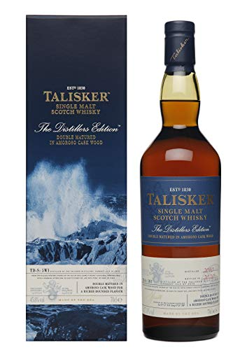 Talisker Talisker The Distillers Edition 2020 Double Matured in Amoroso Cask Wood 2010 45,8% Vol. 0,7l in Giftbox - 700 ml