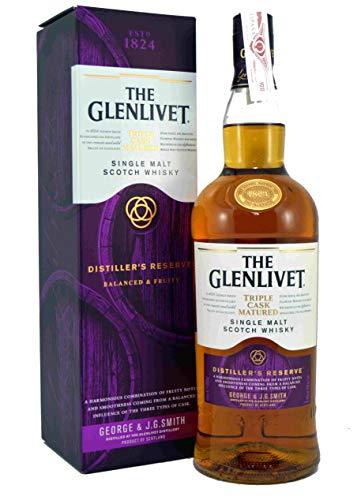 The Glenlivet DISTILLER'S RESERVE Triple Cask Matured Single Malt Scotch Whisky 40% Vol. 1l in Giftbox