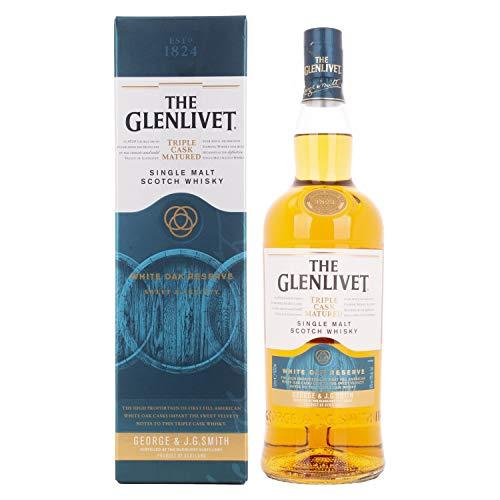 The Glenlivet WHITE OAK RESERVE Triple Cask Whisky scozzese single malt stagionato 0,7l