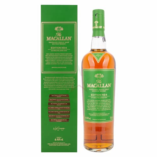The Macallan EDITION N° 4 Highland Single Malt Scotch Whisky in Geschenkbox 48,40% 0,70 lt.