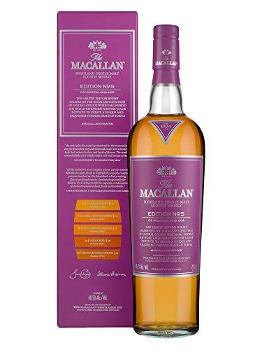 The Macallan EDITION N° 5 Highland Single Malt Scotch Whisky 48,5% Vol. 0,7l in Giftbox