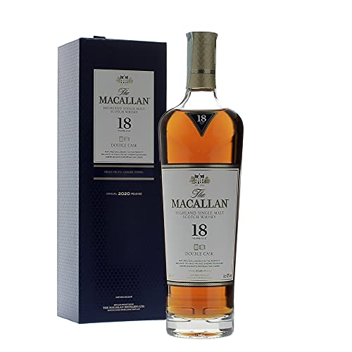 The Macallan The Macallan 18 Years Old DOUBLE CASK Highland Single Malt Scotch Whisky 2020 43% Vol. 0,7l in Giftbox - 700 ml