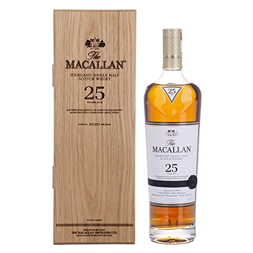 The Macallan The Macallan 25 Years Old Sherry Oak Highland Single Malt Scotch Whisky 2020 43% Vol. 0,7L In Holzkiste - 700 ml