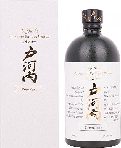 Togouchi um Japanese Blended Whisky 40% Vol. 0,7l in Giftbox