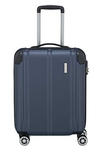 Travelite City Bagaglio a mano, 55 x 20 x 40 cm, Blu (Marine)