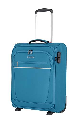 """Valigia """"CABIN"""" by travelite, ideale come bagaglio a mano: pratico trolley a due ruote disponibile e dotato di 2 ampie tasche frontali"""