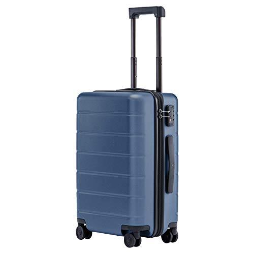 """Xiaomi Trolley Bagaglio a Mano con 8 Ruote, 55 cm, 20"""", Dimensioni Standard per Cabina Aereo, Lucchetto TSA, 38 litri, Blu"""