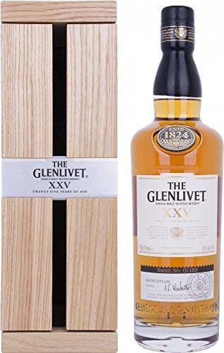XXV 25 Year Old Single Malt Scotch Whisky The Glenlivet 0.7 l